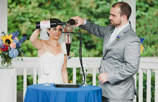Винная церемония на свадьбе